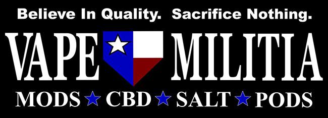 Vape Militia Katy Vape & CBD Logo