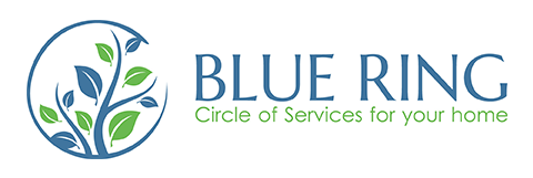 Blue Ring Residential Services Logo