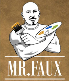 Mr. Faux Studio Logo