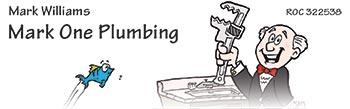 Mark One Plumbing Logo