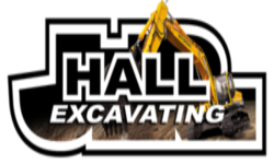J.R. Hall Excavating Logo