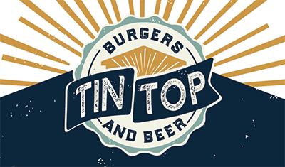 Tin Top Burgers & Beer Logo
