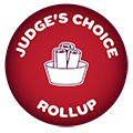 Judge's Choice Rollup Ice Cream Logo