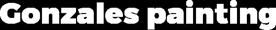 Gonzalez Painting Logo