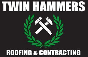 Twin Hammers Roofing & Contracting Logo
