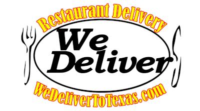 We Deliver to Texas Logo