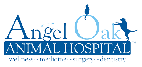 Angel Oak Animal Hospital Logo