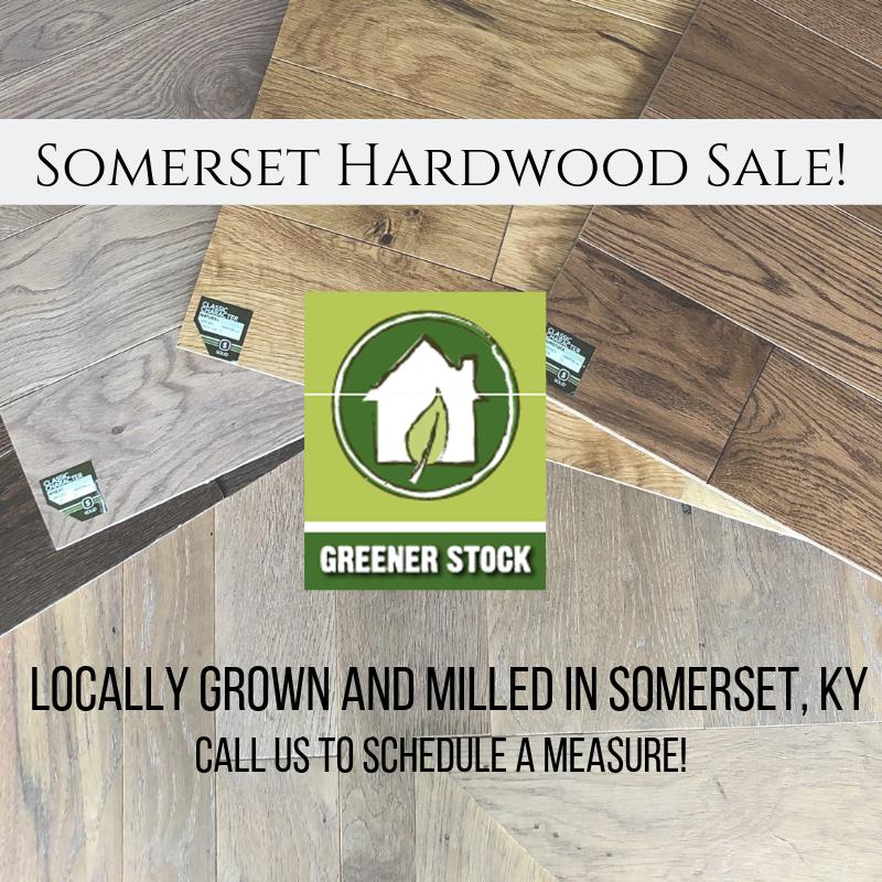 Somerset Hardwood Sale