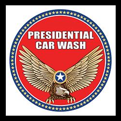 Presidential Car Wash Logo
