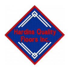 Hardin's Quality Floors Logo