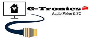 G-Tronics Audio, Video & PC Logo