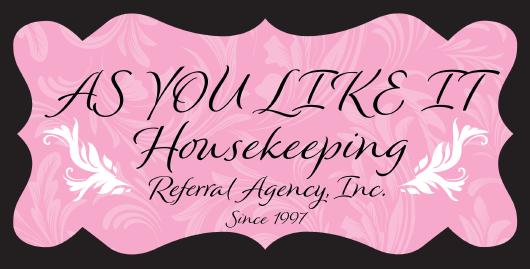 As You Like It Housekeeping Referral Agency Logo