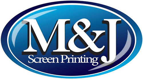 M&J Screen Printing Logo