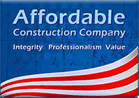 Affordable Construction Company Logo