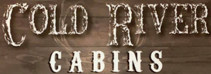 Cold River Cabins in Concan Logo