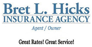 Bret L. Hicks Insurance Agency Logo