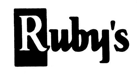 Ruby's Cleaners Logo