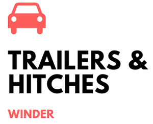 Trailers & Hitches - Winder Logo