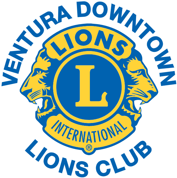 Ventura Downtown Lions Club Logo