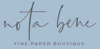 Nota Bene Fine Paper Boutique Logo