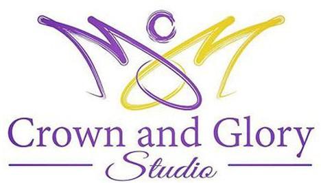 Crown & Glory Studio Logo