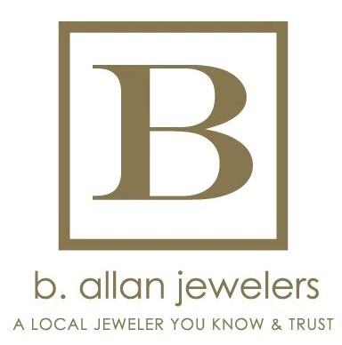 B. Allan Jewelers Logo