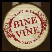 Bine & Vine Bottle Shop Logo