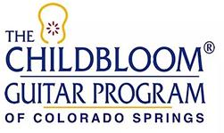 The Childbloom Guitar Program of Colorado Springs Logo