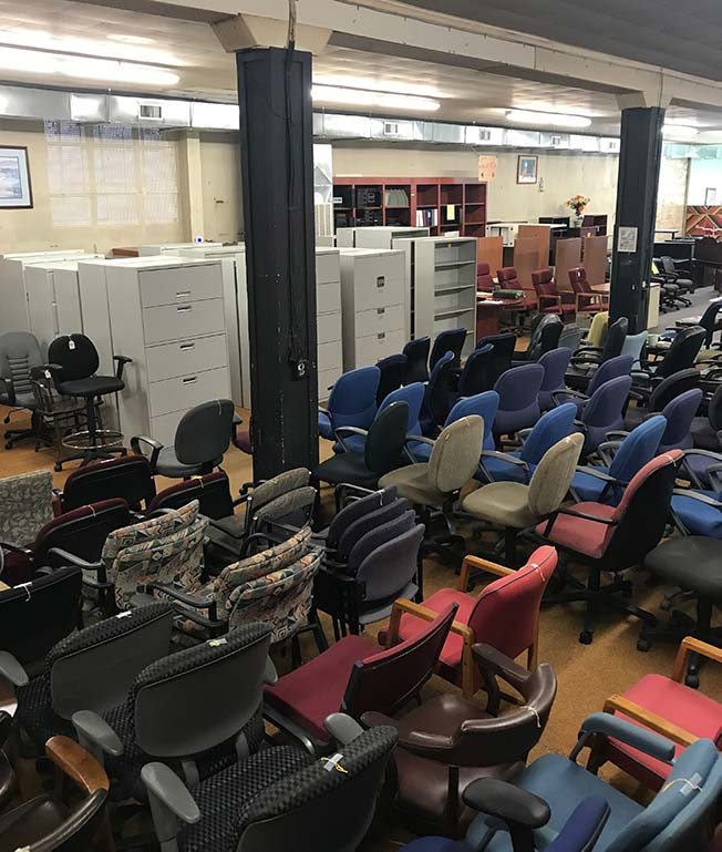 Used Office Furniture Store In Wilmington, NC