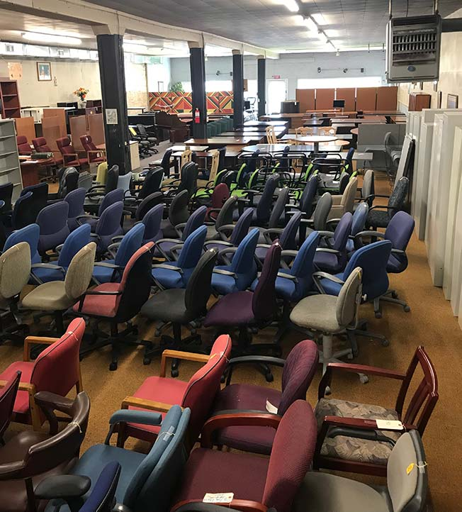 Furniture Stores Close By: Used Office Furniture Store In Wilmington, NC