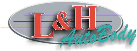 L & H Auto Body Logo