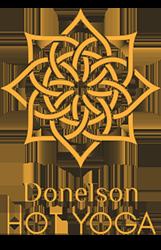 Donelson Hot Yoga Logo
