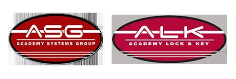 Academy Lock & Key Logo