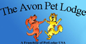 The Avon Pet Lodge Logo