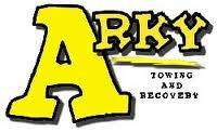 Arky Towing Logo