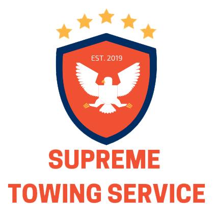 Supreme Towing Service Logo