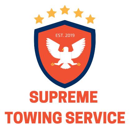 Supreme Towing Service Logo