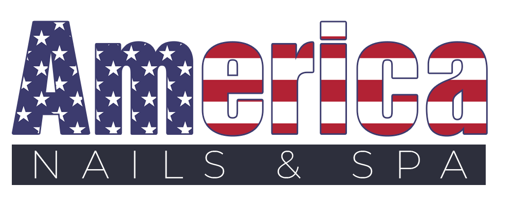 America Nails & Spa Logo