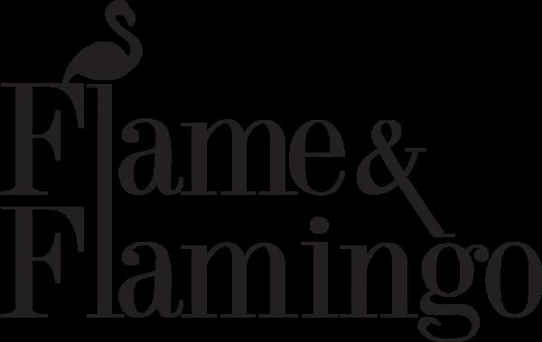 Flame and Flamingo Logo