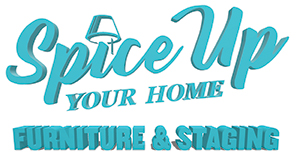 Spice Up Your Home Furniture & Staging Logo