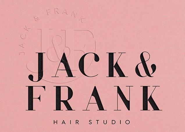 Jack & Frank Hair Studio Logo