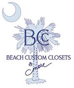 Beach Custom Closets & More Logo