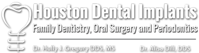 Houston Dental Implants Family Dentistry Oral Surgery And Periodontics Logo