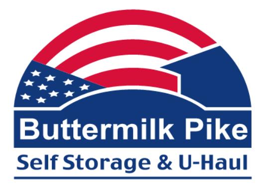 Buttermilk Pike Self Storage & Uhaul Logo