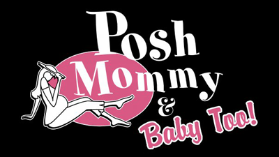 Posh Mommy & Baby Too! Logo