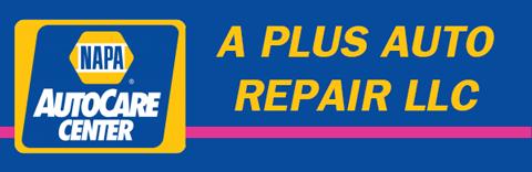A Plus Auto Repair Logo