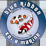 Blue Ribbon Koi & Marine Logo