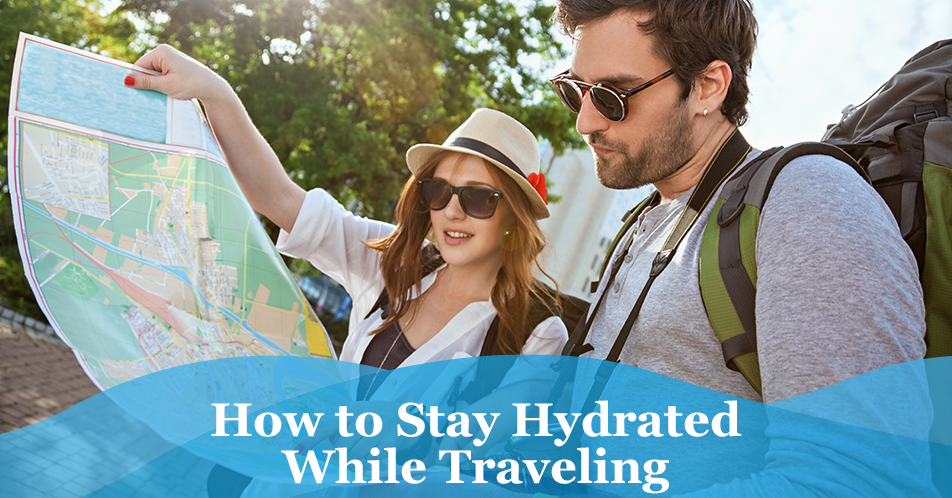 How to Stay Hydrated While Traveling