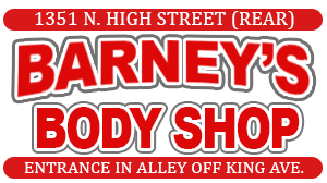 Barney's Body Shop Logo