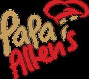 Papa Allen's Pizza Logo